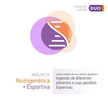 DUO Nutri + Genética Esportiva
